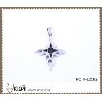 China Hot sell 316 Stainless Steel Cross Pendant H-L2182 wholesale