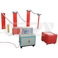 Buy cheap AC High Voltage Resonance Test Series 1.5% System Accuracy Three Phase 380V 50Hz from wholesalers