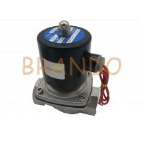China 2/2 Way Stainless Steel Pneumatic Solenoid Valve 2S-350-35  1 1/4 Inch wholesale