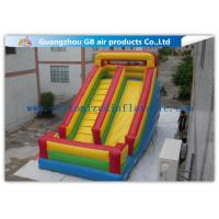 China Classics Inflatable Water Slides For Big Kids , Moonwalk Water Slide For Sports Jumping wholesale