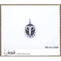 China 316 stainless steel pendant with cow shape H-L1559 wholesale