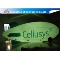 China Commercial Inflatable Helium Balloons , Giant Helium Blimp With LED Light wholesale