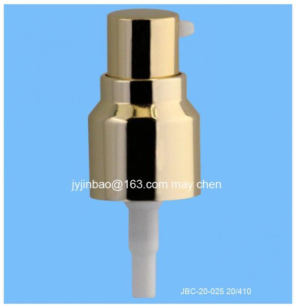 Quality Cream Pump/ Treatment Pump 20/410 Aluminium Quality is our culture for sale