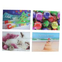 China CMYK Offset Custom Lenticular Printing Cards 100% Recyclable UV Printing wholesale