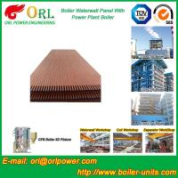 China Solid Fuel Boiler Water Wall Tubes , High Temperature Water Wall In Boiler wholesale