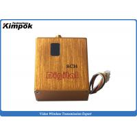 China 800mW UAV Video Transmitter Miniature 900Mhz ~ 1200Ghz FPV Video Link with Digital Display wholesale