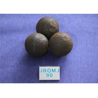 China Mines Unbreakable Hot Rolled D90mm Grinding Balls For Mining , Steel Ball for Mine Dressing Plant wholesale
