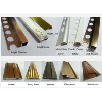 China Stainless Steel trim Edge Protection with mirror/hairline/brushed/color finish wholesale