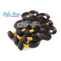 China Grade 7A Dyeable Raw Brazilian Virgin Human Hair Body Wave For Ladies wholesale
