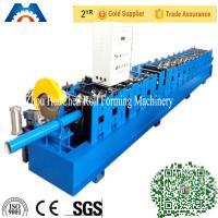 China 100mm Round Downspout Pipe Roll Forming Machine Fly Saw Cutting Type wholesale