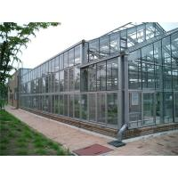 China Easily Installed Agricultural Steel Frame Glass House , Commercial Green House wholesale