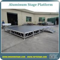 China wholesale Aluminum Alloy Stage Platform Portable Stage on sale wholesale