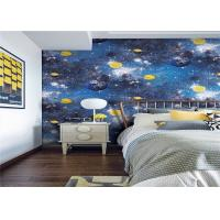 Household Good Breathable Kids Designer Wallpaper For Boys Bedroom