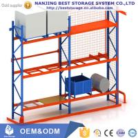 China High quality Heavy duty pallet racking Steel Q235 blue orange color wholesale