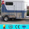 China China produced angle load horse float trailer,2 horse float wholesale