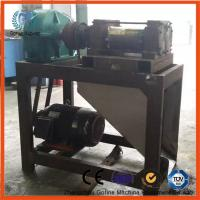 China 1 - 2mth Double Roller Granulator Double Screw Extruder 11 - 22kw Power on sale