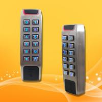 China Slim Type Standalone Proximity Reader , Wiegand 26 Access Control Rfid Reader wholesale