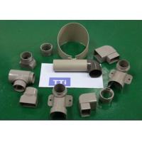 China Plastic Industrial Pipes Injection Molding With Automatic Pulp Ejection System wholesale