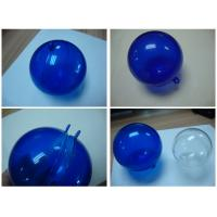 China Acrylic Storage Round Boxes , High Transparent Acrylic Empty Ball wholesale