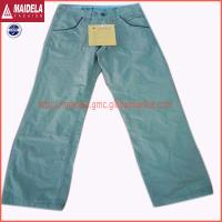 China Mens casual long pants with cotton fabric wholesale
