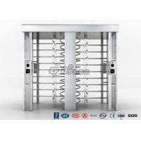 Quality Automatic Security Full Height Turnstile Double Lane With Impact Resistance for sale