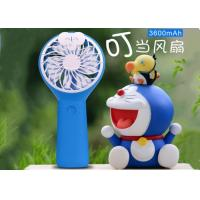 3600mah Battery  Operated Charger Handheld Fan Mini Portable Outdoor USB Hand Holding Fan