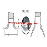 Quality Forged Steel Pipe Fitting Saddle Pad Carbon Steel ASTM A105 Sweeploet for sale