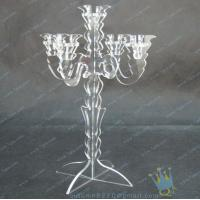 China CH (8) Clear acrylic customized candle holder with cute cups wholesale