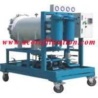 China Coalescence-separation type Diesel Fuel Oil Filtration Machine on sale