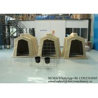 China PE Material House Best Isolation Room Calf Shelters 2200 * 1200 * 1400 Mm wholesale