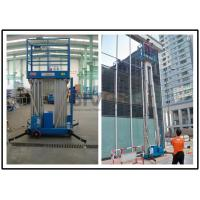 China 1330 * 600mm Vertical Mast Lift 12 Meter Platform Height For 2 Persons Work wholesale