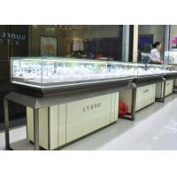 China Fashion Jewellery Display Counter / Jewelry Store Fixtures Customized Logo wholesale