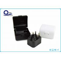 China 3 In 1 Adapter Universal Travel Plugs Charger Kit With Travel Case Mixed Color wholesale