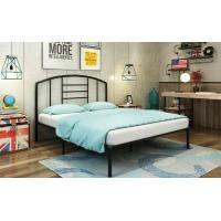 China Simple Metal Frame Bed / Modern Iron Bed  Durable Adult Bedroom Bed Steel Material wholesale