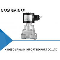 China High Flow A2 SS Solenoid Valve Magnetic Solenoid Valve NBSANMINSE Brand wholesale