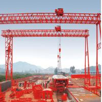 China 40t Fast lifting Truss Double Girder Gantry Crane for Precast yard wholesale