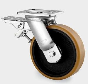 China Swivel PU Furniture Caster Wheel wholesale