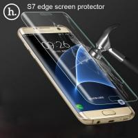 China samsung s7 edge screen protector tempered glass screen protectors Curved suface Full Coverage HD invsible anti scratch wholesale