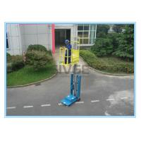 China Warehouse Order Picker 2.8m Mast Type , Hydraulic Aluminum Stock Picker Lift wholesale