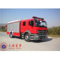 China Max Speed 100KM/H Foam Fire Truck Adjustable Seats With Cooling Water Pipeline on sale