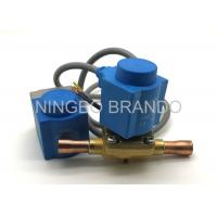 Quality Normally Closed EVR Refrigeration Solenoid Valve Air Conditioning , Solenoid Operated Valve for sale
