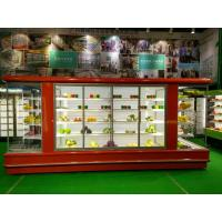 China Meat Chocalate Display Open Fronted Chiller Cake Display Chiller wholesale