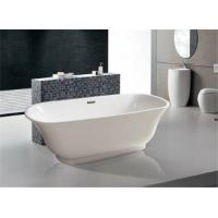 China Solid Surface Small Freestanding Soaking Tub Gross Weight 46.5kg Customized Color wholesale