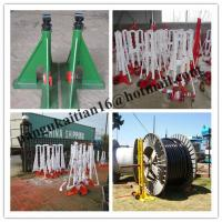 China best quality Cable Drum Rotator,Cable drum trestles,buy Cable Drum Jacks wholesale