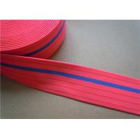 Quality Dying Heavy Duty Elastic Webbing For Furniture , Hammock Webbing Straps for garment for sale