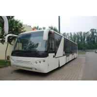 China Large Capacity Low Carbon Alloy Body Airport Passenger Bus Ramp Bus DC24V 240W wholesale