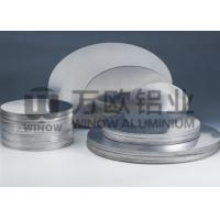 China High Plasticity 3004 Aluminum Disk Blanks 0.6mm Thickness ROSH Certificated wholesale