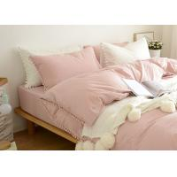 China 100% Cotton Home Modern Duvet Covers And Shams 4Pcs Cute Color Optional wholesale