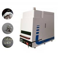 China Air Cooling Fiber Laser Marking Machine Environmental 2 Years Warranty for Industrial on sale