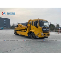 China Dongfeng Kingrun Cummins Engine 10Ton Intergrated Wrecker Tow Truck with 3meter Underlift wholesale